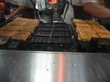 ちょぼ焼きの鉄板
