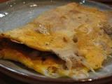 芋蛸の豚キムチ焼