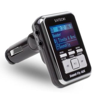 Satechi Soundfly AUX MP3プレーヤー 車載FMトランスミッター