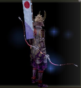 涼風の朱塗り弓