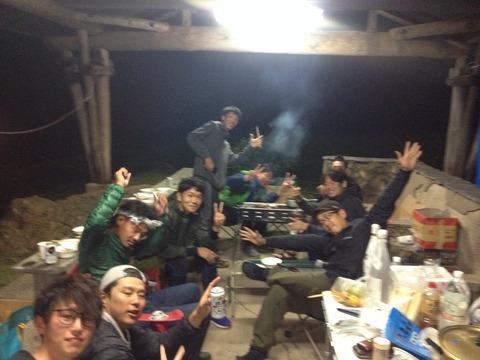 BBQ大会in皆月キャンプ場