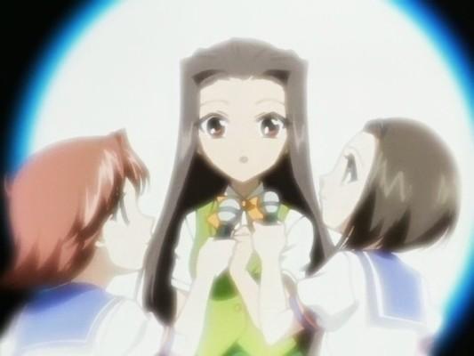happy051124004 前回の黒闇天のことで悩む亜麻乃ちゃん。自分以外に菊乃介を好きな人が