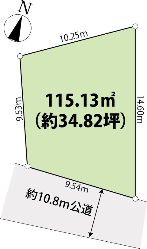 福岡市城南区樋井川4-区画図