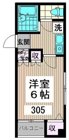 キャスル高円寺南 305号室