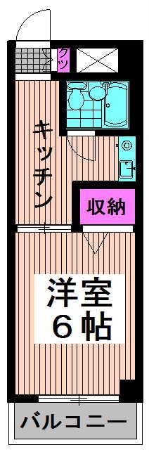 シャンボール高円寺駅前 307 間取り