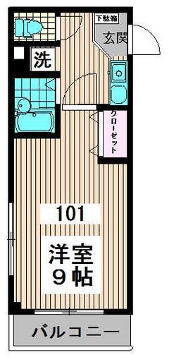 キャスル高円寺南 101号室