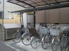 サバイディ自転車置場・ゴミ集積BOX