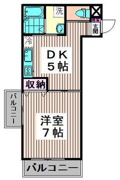 ユニーブル高円寺 203 間取り