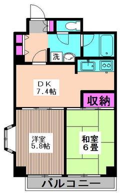 ベルエア新高円寺 701