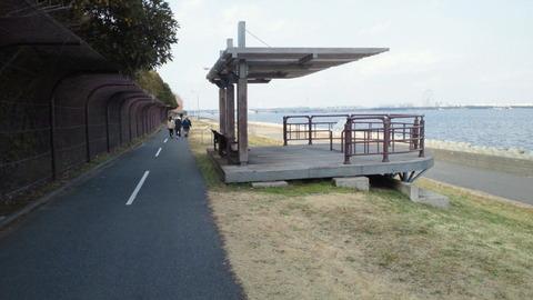 若洲海浜公園サイクリングコース17