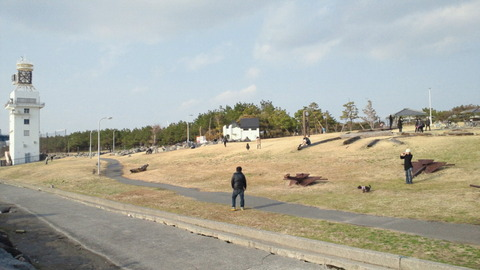 若洲海浜公園サイクリングコース53