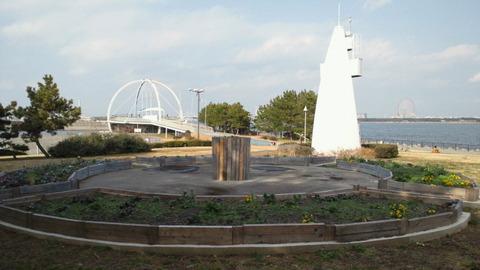 若洲海浜公園サイクリングコース32