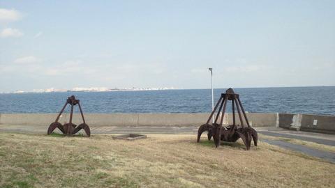 若洲海浜公園サイクリングコース13