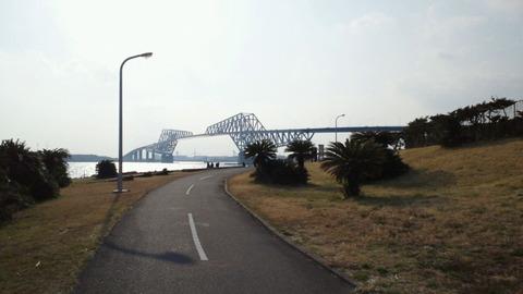 若洲海浜公園サイクリングコース50