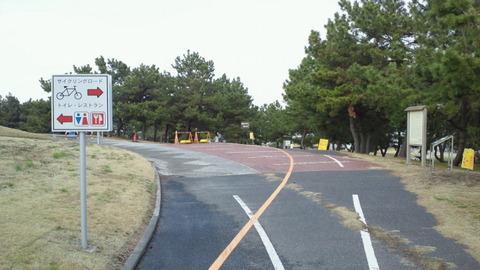若洲海浜公園サイクリングコース20