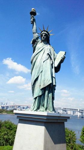 お台場海浜公園18自由の女神像