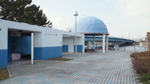 若洲海浜公園サイクリングコース27