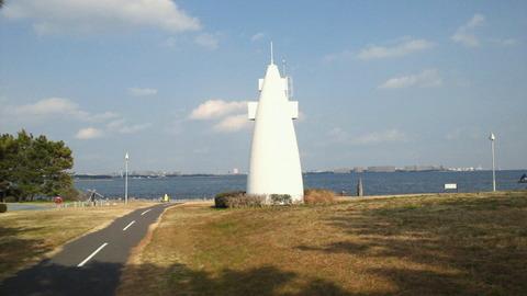若洲海浜公園サイクリングコース31