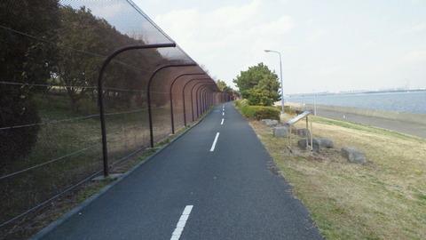 若洲海浜公園サイクリングコース14