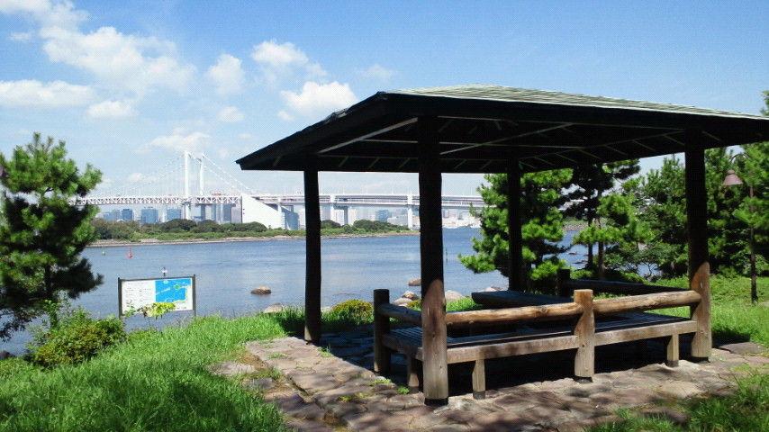 「お台場海浜公園 東屋」の画像検索結果