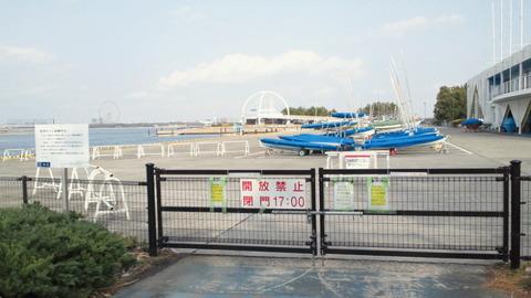 若洲海浜公園サイクリングコース25