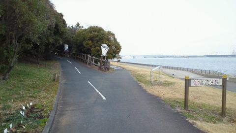 若洲海浜公園サイクリングコース18