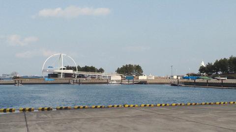 若洲海浜公園サイクリングコース28ヨット訓練所
