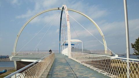 若洲海浜公園サイクリングコース36展望台
