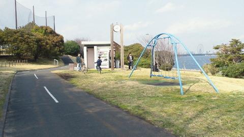 若洲海浜公園サイクリングコース16