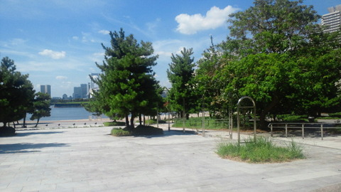 お台場海浜公園42正門