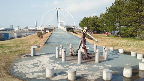 若洲海浜公園サイクリングコース35