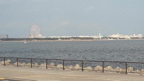 若洲海浜公園サイクリングコース45