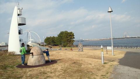 若洲海浜公園サイクリングコース33