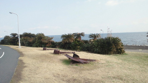 若洲海浜公園サイクリングコース7