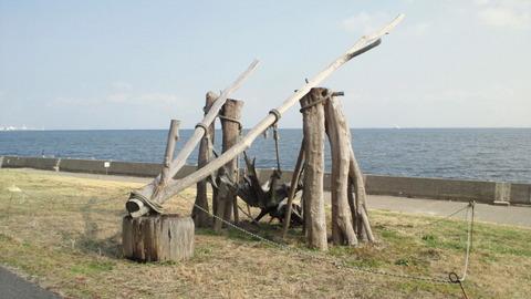 若洲海浜公園サイクリングコース11海の王座