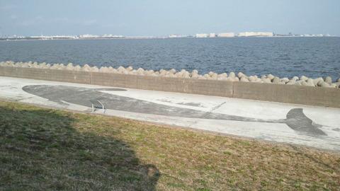 若洲海浜公園サイクリングコース47