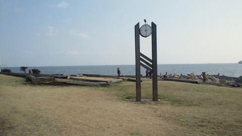 若洲海浜公園サイクリングコース6