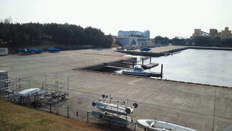 若洲海浜公園サイクリングコース40ヨット訓練所