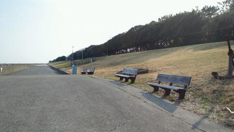 若洲海浜公園サイクリングコース46