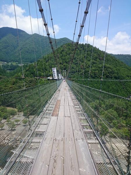 谷瀬の吊り橋 十津川村 (3)