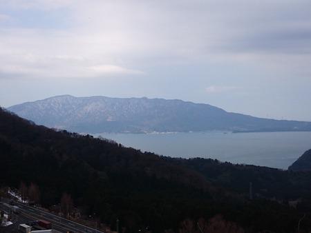 杉津パーキングエリアより眺める日本海