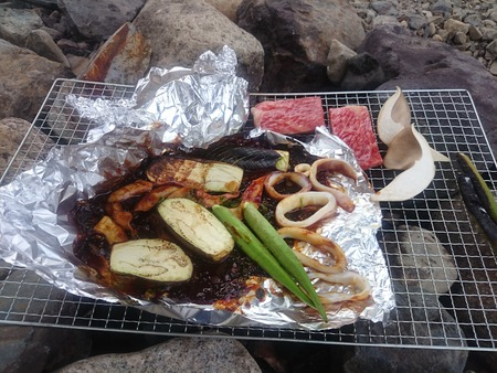 足太あわび茸味噌焼きバーベキュー (5)