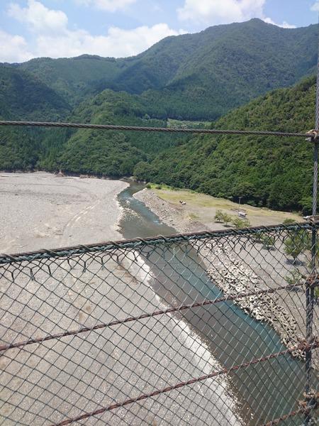 谷瀬の吊り橋 十津川村 (5)