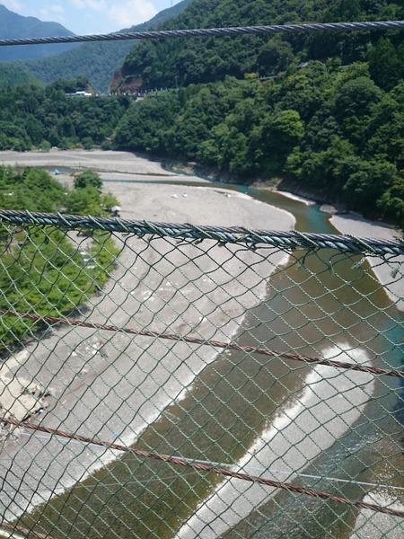 谷瀬の吊り橋 十津川村 (4)
