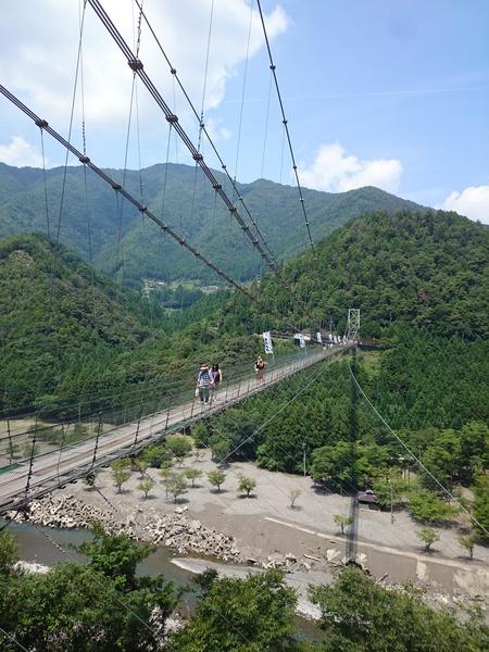 谷瀬の吊り橋 十津川村 (10)