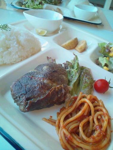 滋賀B級グルメ 肉巻きハンバーグ