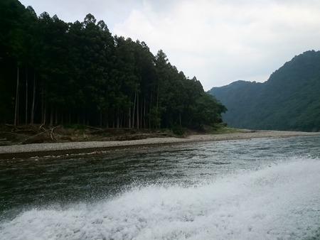 瀞峡めぐり ウォータージェット船 (13)