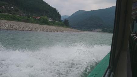 瀞峡めぐり ウォータージェット船 (6)