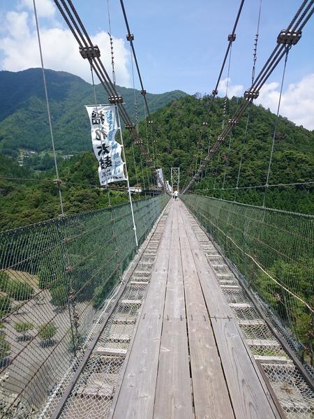 谷瀬の吊り橋 十津川村 (6)