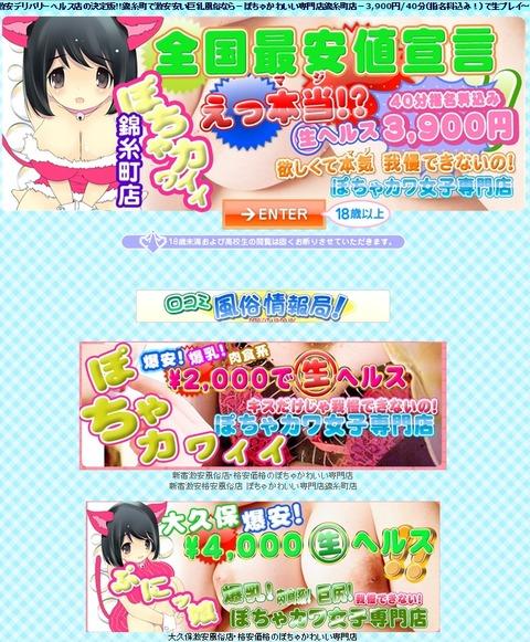 ぽちゃカワ女子専門店!錦糸町店